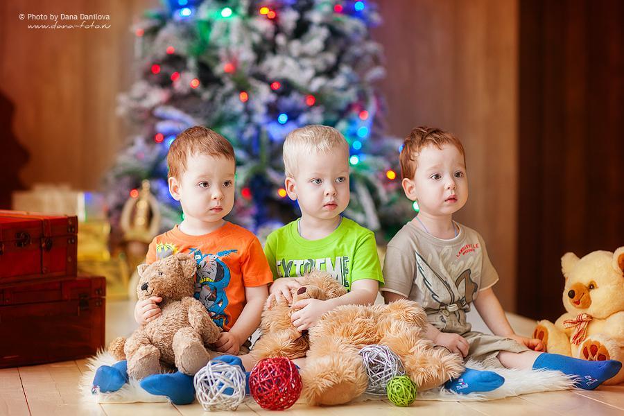 Новогодняя фотосессиия Дана Данилова