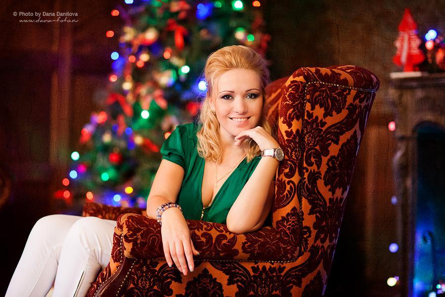 Новогодняя фотосессия Дана Данилова